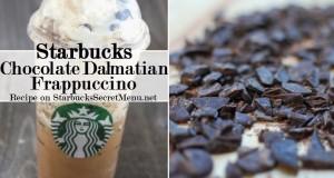 chocolate dalmatian frappuccino