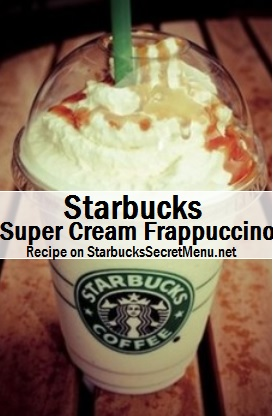 super cream frappuccino
