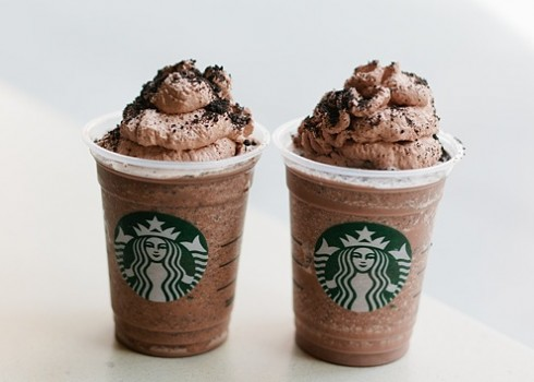 cookies and cream frappuccino