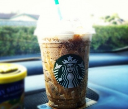 Starbucks Caramel And Nut Chocolate Bar Frappuccino