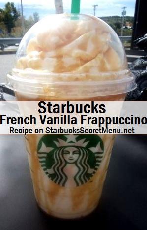 french vanilla frappuccino