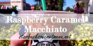 Raspberry Caramel Macchiato