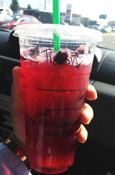 Starbucks Berry Hibiscus Passion Tea Starbucks Secret Menu