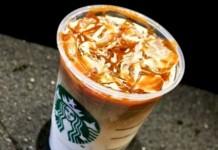 caramel macchiato frappuccino
