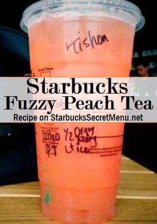 fuzzy peach tea