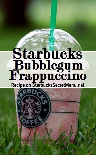 bubblegum frappuccino