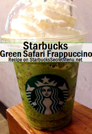 green safari frappuccino