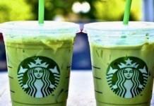 skinny mint frappuccino