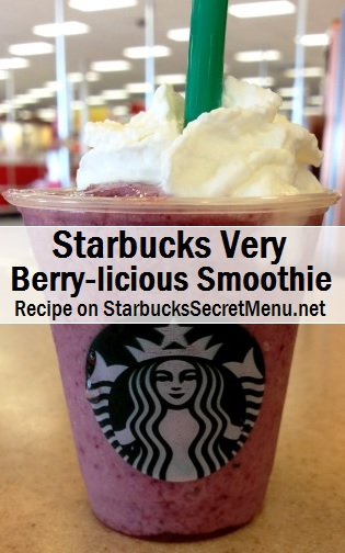Very berry-licious smoothie
