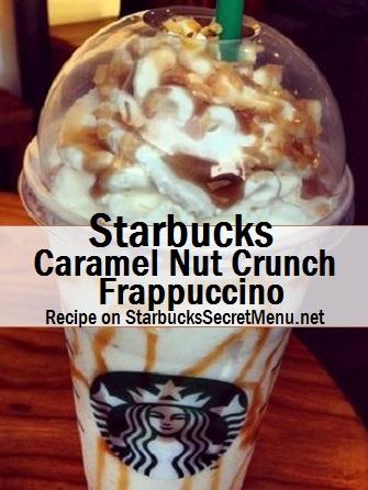 caramel nut crunch frappuccino
