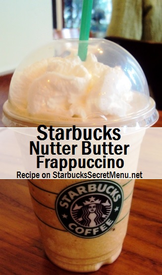 nutter butter frappuccino