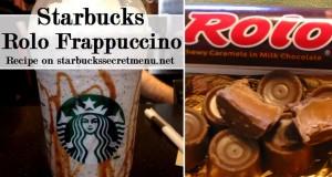 rolo frappuccino