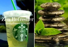 starbucks secret zen refresher