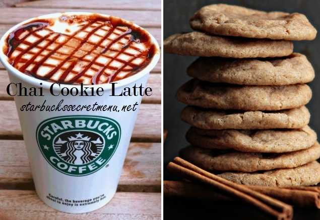 Starbucks Chai Cookie Latte   Starbucks Secret Menu