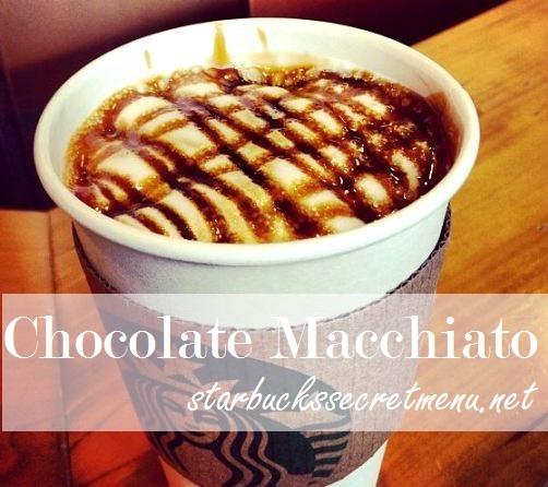 chocolate macchiato