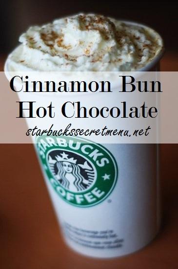 cinnamon bun hot chocolate