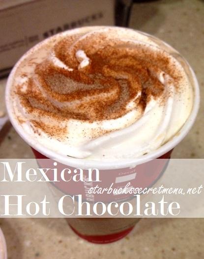 starbucks mexican hot chocolate