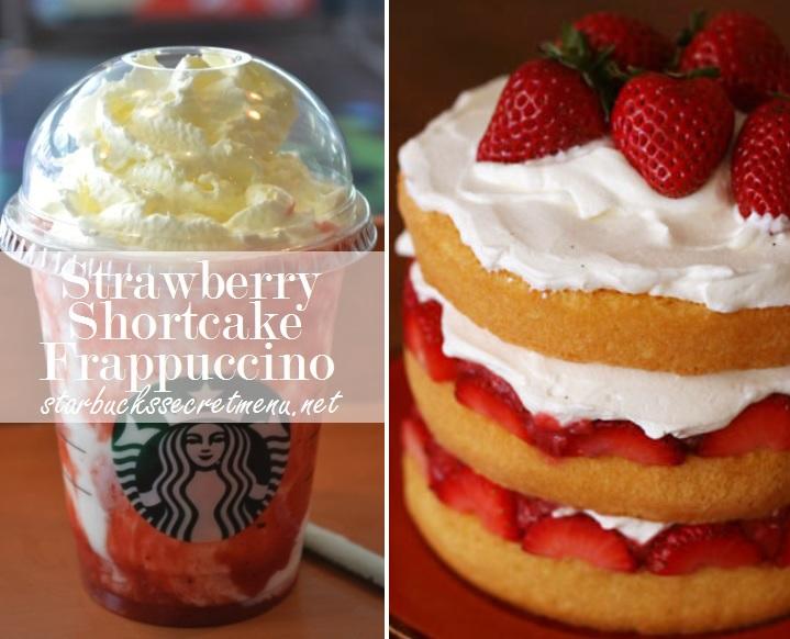 Starbucks Strawberry Shortcake Frappuccino Starbucks