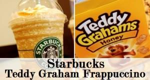 teddy grahams frappuccino