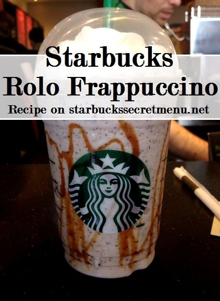 starbucks rolo frappuccino
