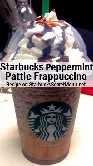 peppermint pattie frappuccino