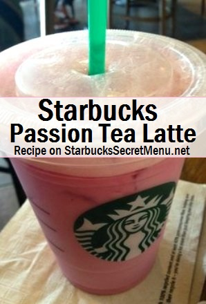 sb passion tea latte