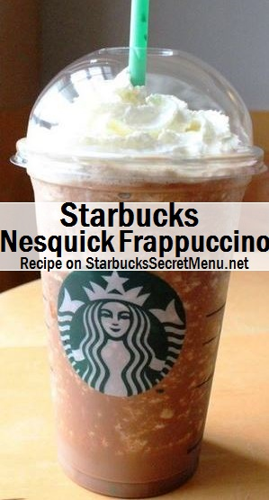 nesquick frappuccino