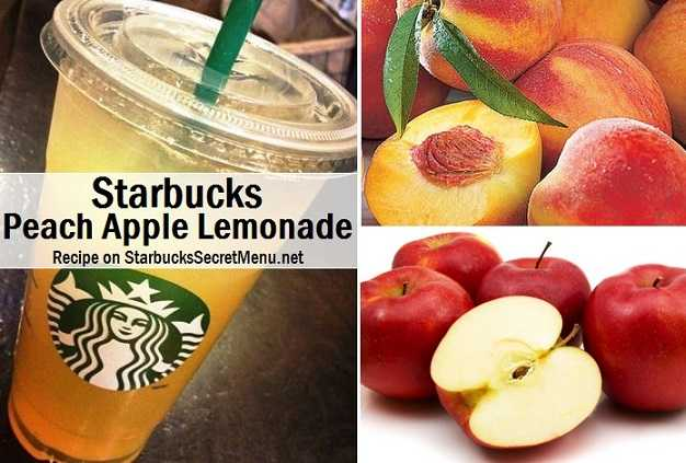 Starbucks Peach Apple Lemonade | Starbucks Secret Menu
