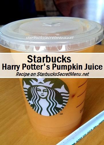harry potter's pumpkin juice