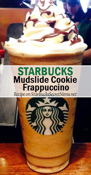 mudslide cookie frappuccino