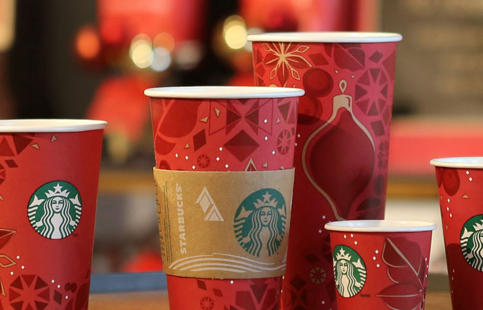 Heres a look at Starbucks cups from 2009 to 2019 picture