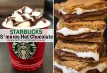 starbucks secret s'mores hot chocolate