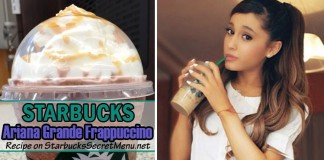 starbucks ariana grande frappuccino
