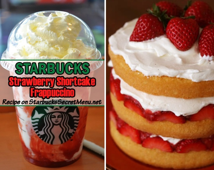 Starbucks Strawberry Shortcake Frappuccino Starbucks