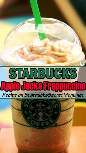 apple jacks frappuccino