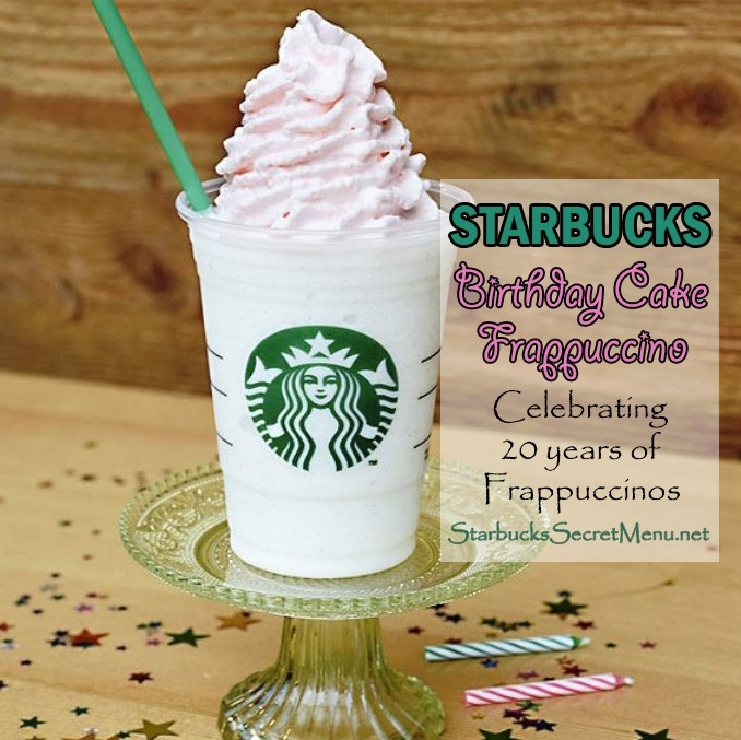 Birthday Cake Flavor Starbucks