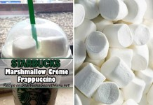 starbucks marshmallow creme frappuccino feat
