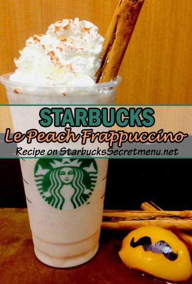 Le Peach Frappuccino