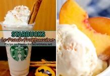 Starbucks Le Peach Frappuccino