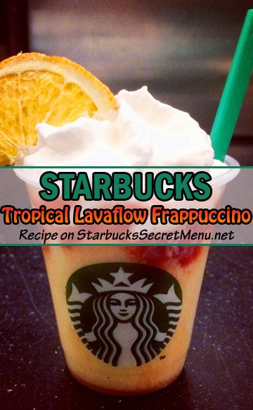 Tropical Lavaflow Frappuccino