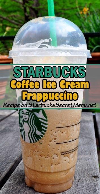 coffee ice cream frappuccino