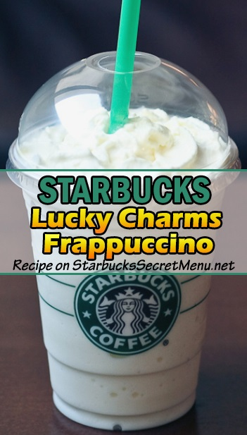 Lucky Charms Frappuccino