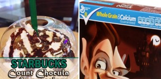 Starbucks Count Chocula Frappuccino