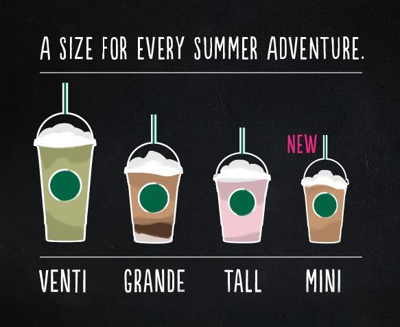 starbucks mini for summer