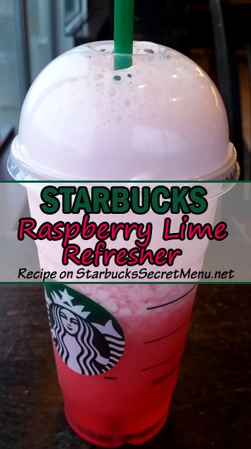 Raspberry Lime Refresher