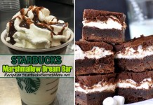 Starbucks Marshmallow Dream Bar Frappuccino