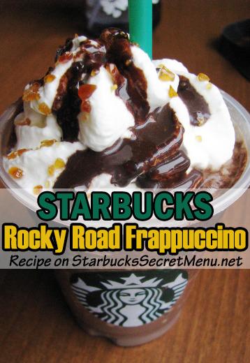 rocky road frappuccino