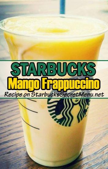 mango frappuccino