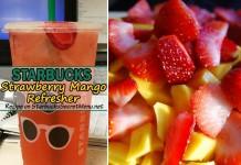 starbucks strawberry mango refresher