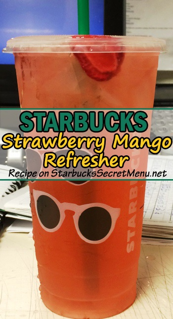 strawberry mango refresher